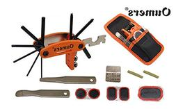 Oumers 16 in 1 Multi Function Bike Tools with Patch Kit & Ti