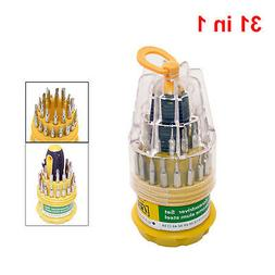 31 in 1 Screwdriver Set Repair Kit Tools Model Bicycle Engin
