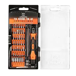 60 in 1 Screwdriver Set, Precision Driver 56 Bits Magnetic P