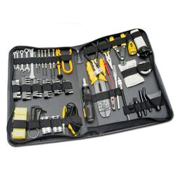 Computer Cleaning Repair Tool Kit 100pc Storage Case Pliers