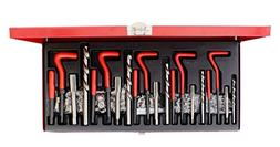 ABN 131-Piece Metric Thread Repair Set – Damaged Helicoil-