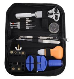 13pcs watch repair tool kit case opener