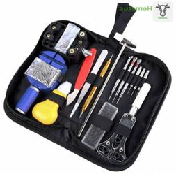 Ohuhu 147 PCS Watch Repair Tool Kit Case Opener Spring Bar S