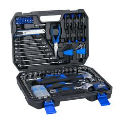 PROSTORMER 148 Piece Household Repair Tool Kit Set with Tool