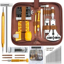 149 pcs Watch Repair Kit Watchmaker Back Case Remover Opener