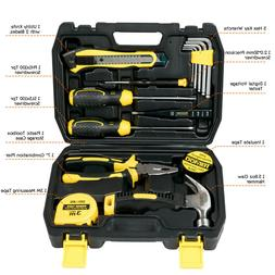 15-Piece Portable Repair Hand Tools Kit with Case for Home/O