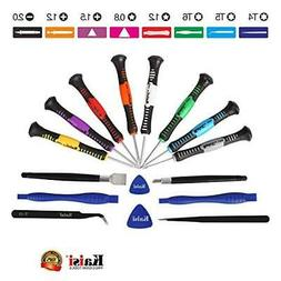 Kaisi 16-Piece Precision Screwdriver Set Repair Tool Kit for