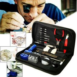 16pcs watch repair tool kit link remover