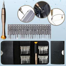25 in 1 Repair Tool Set Screwdriver Wallet Kit For Macbook P