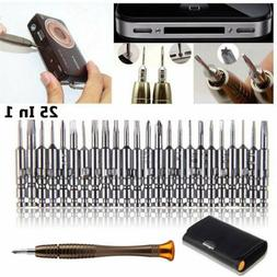 25 in 1 Screwdriver Set Opening Repair Tolls Kit For iPhone