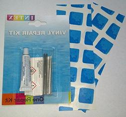 2xPVC Patch + 1xVinyl Repair Kit for Above Ground Swimming P