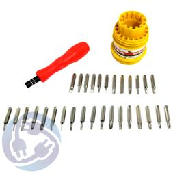 31 piece Screwdriver Set TE-6036C Mobile Phone Hard Drive Vi