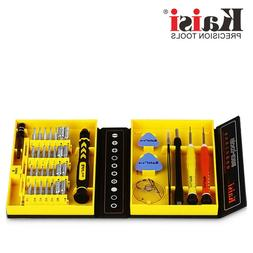 KAISI 38 PCS CELLPHONE REPAIR TOOK KIT SET FOR IPHONE, PAD,