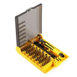 45 Multi Precision Hex Torx Star Mini Screwdriver Set Bits R