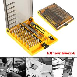45 Multi Small Precision Hex Torx Star Mini Screwdriver Set