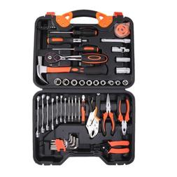 55-Piece AUTO Repair Kit Home Use Tool Set General Household
