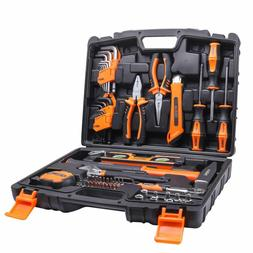Tacklife 68Piece Household Tool Kit Home Repair Hand Tool Se