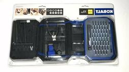 Kobalt 73-Piece Hobbyist Screwdriver Bits And File Set Tool