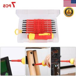 7Pcs Multi-Purpose Electric Head Bit Hand Scerwdriver Repair