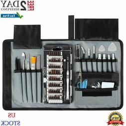 80 in 1 Pro Repair Toolkit Electronics Precision Magnetic Sc