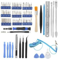80 In 1 Steel Screwdriver 56 Bit Repair Tools Kit Sets For C