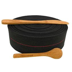 BambooMN Brand - Two-Inch Latex Elasbelt Webbing for Chair R