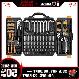 pro 192 piece mechanics tool set socket
