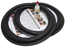 "Standard 12"" Angle-attach Speaker Foam Surround Repair Kit -"