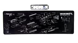 Ultimate Rifle Build Large Gun Cleaning Mat with Exploded Pa