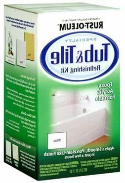 Bathtub Tile Tub Refinishing Kit Paint Repair Renew Sink Cer