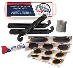 RocRide 16-PC Inner Tube Patch Bicycle Repair Kit. Also for