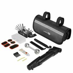 RockBros Bicycle Portable Tyre Bike Repair Kit Tool Bag With