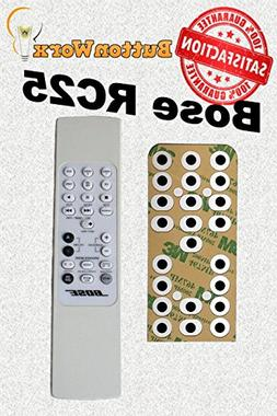 Bose RC-25 Button Repair Kit for LifeStyle Remote Control 20