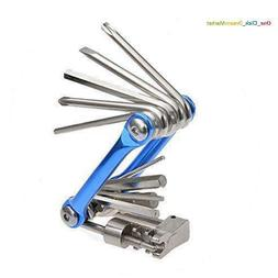 Compact Portable Multifunction Bicycle Bike Cycling Mechanic