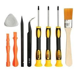 E.Durable Complete Screwdriver Set Repair Cleaning Tool Kit
