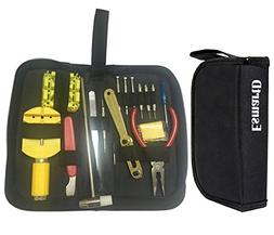 Professional Deluxe Practical Wrist Watch Repair Tools Kit S