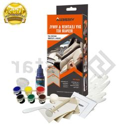 DIY Leather and Vinyl Repair Kit Fix Holes Rips Upholstery C