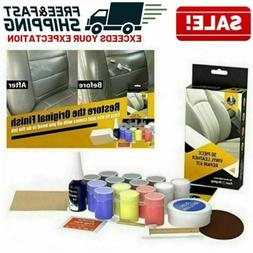 DIY Leather Vinyl Repair Kit Couch Furniture Car Seat Boots