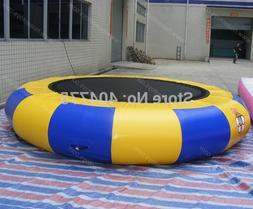 Free shipping inflatable water <font><b>trampoline</b></font