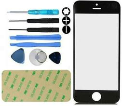 Front Outer Screen Glass Lens replacement Repair Kit For iPh