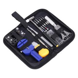 GHB Watch Repair Tool Kit Case Portable Back Removing with a