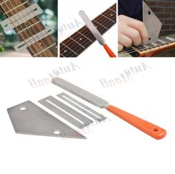 guitar fret crowning file leveling grinding protectors