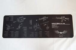 Tactical Point of View Gun Cleaning Mat - 12 inch X 36 inch