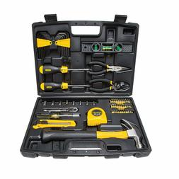 New Stanley 94-248 65-Piece Homeowner Tool Kit  Repair tools