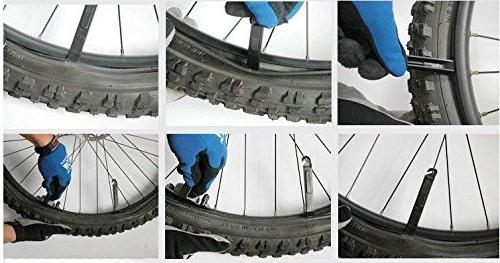 WOTOW 16 in 1 Multi-Function Bicycle Mechanic with 3 pcs Pry Bars