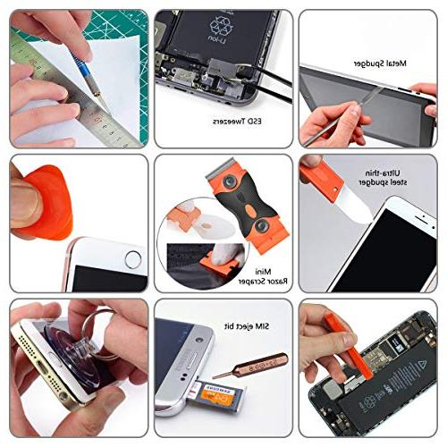96 in 1 Set Tool Steel for Phone/iPad/MacBook/Laptop/Watch/Game Console Replace Screen