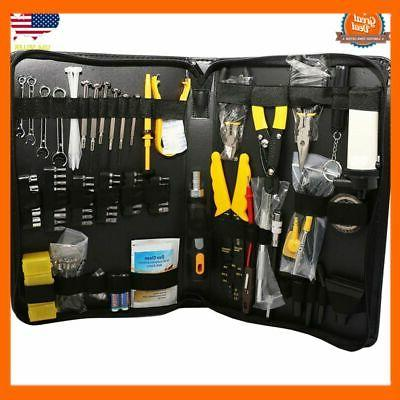 100 Pcs Computer Technician Tool Kit for Repairing, Wiring C
