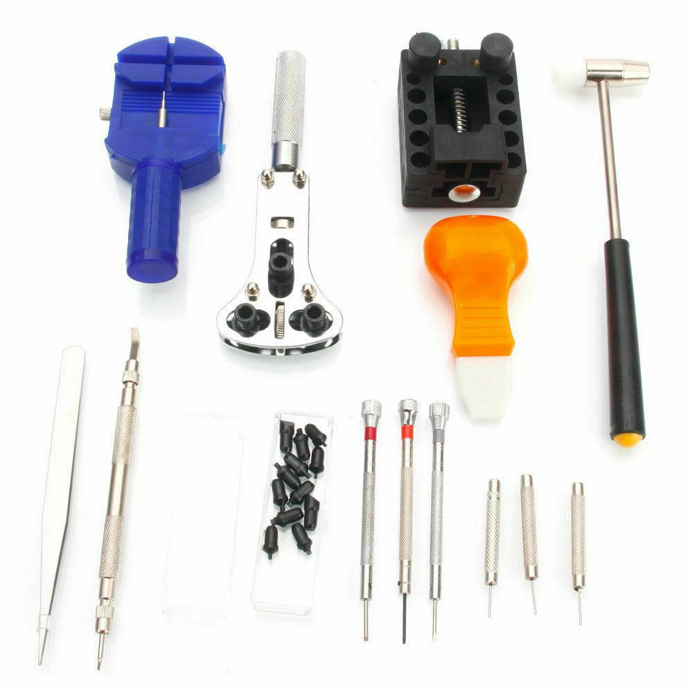 13Pcs Watch Kit Link Spring Hammer + Black