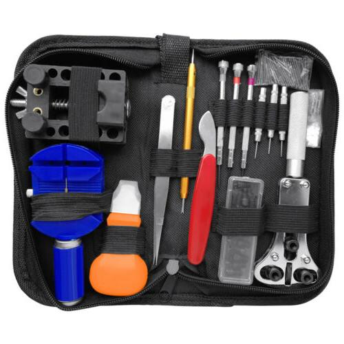147 pcs watch repair kit professional spring