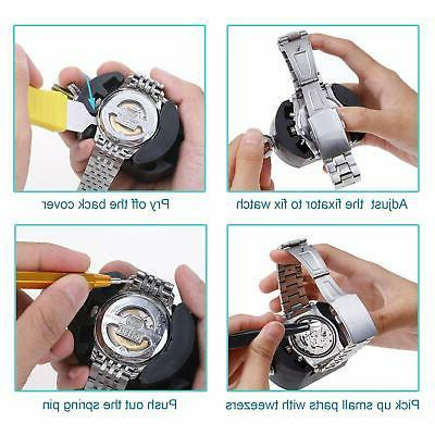 XOOL 151 PCS Watch Repair Professional Bar SetWatch R...